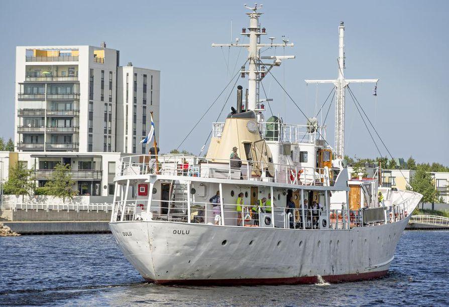 Oulu-laiva tarvitsee 60 000–100 000 euroa maksavat kunnostustyöt. Arkistokuva.