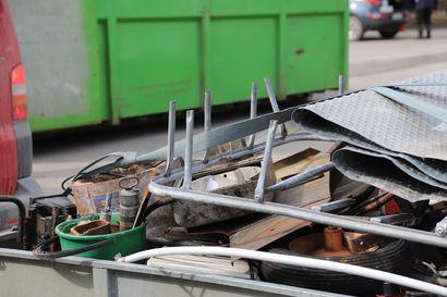 Jätteen määrä kasvanut, kierrättämisen suosio jatkunut – keskimäärin jokainen kuntalainen tuottanut poltettavaa jätettä lähes 180 kiloa vuodessa