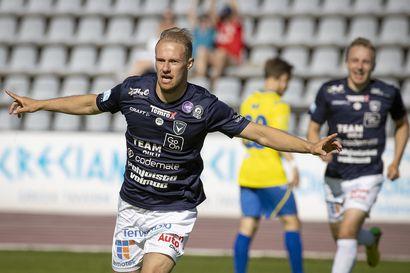 """Kolmannessa peräkkäisessä ottelussa osunut Niklas Jokelainen sinetöi AC Oululle voiton – """"Meillä on paljon tekemistä omassa pelissämme, mutta tästä on hyvä jatkaa"""""""