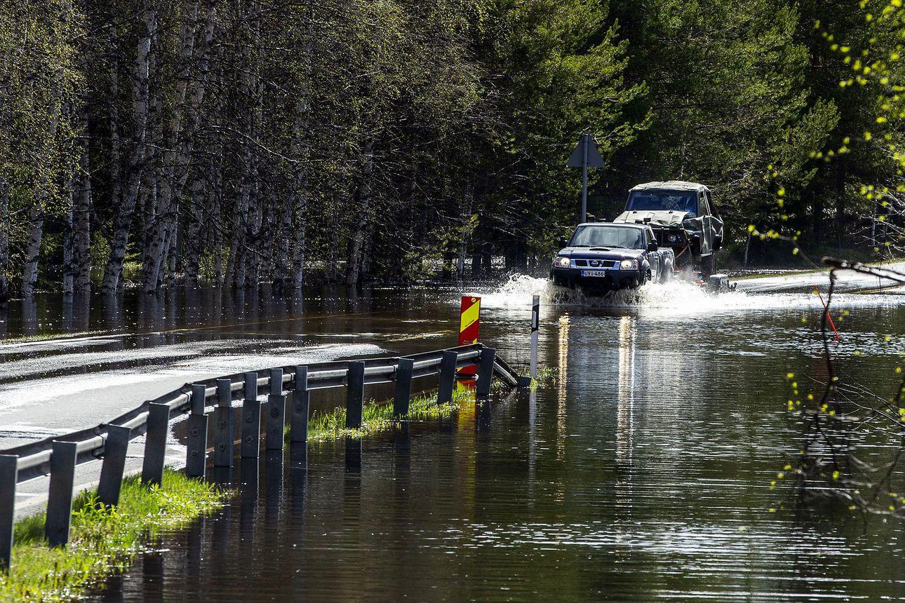 Rovaniemellä veden pitäisi nousta enää 10–20 senttiä – Kemijärven säännöstelyllä varaudutaan ensi viikon sateisiin