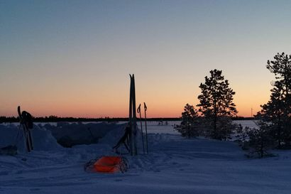 Lukija Limingasta vinkkaa hienon luontoelämyksen lähiseudulla: yövy lumikiepissä keskellä aavaa suota