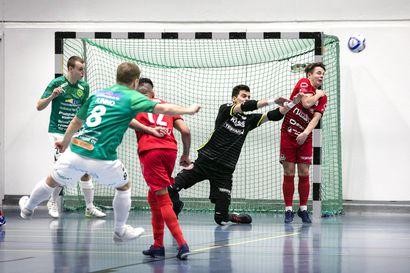 FC Kemi juhli Final Fourin voittoa - maalivahti Slobodan Tomic palkittiin turnauksen parhaana pelaajana