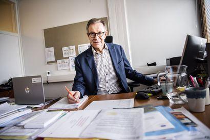 """Markus Hemmilä on johtanut Rovaniemellä yli 200 miljoonan euron rahavirtoja: """"Nämä rahat voisi käyttää paremminkin"""""""