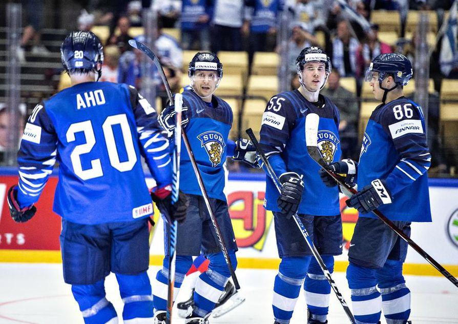 Jääkiekon MM-kisat järjestetään toukokuun alussa Tanskassa.