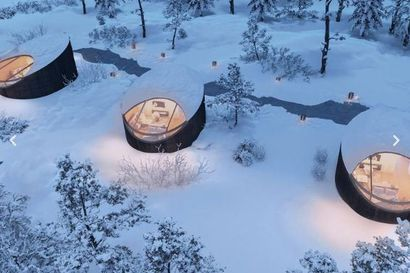 Livojärven korpeen Posiolle aiotaan rakentaa vuodessa 40 iglumökkiä ja hotelli-ravintola