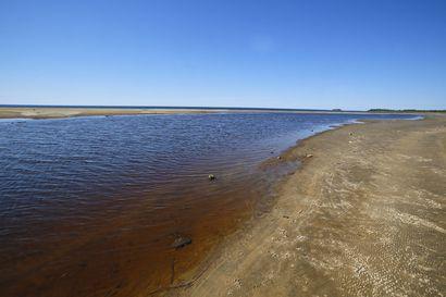 Olkijokisuun uimaranta kiinni koko loppukesän