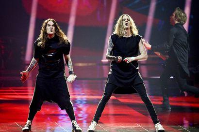 Oululaislähtöinen Blind Channel jatkaa matkaansa Euroviisujen finaaliin – Suomea edustava yhtye keräsi raikuvat suosionosoitukset Rotterdamin semifinaalissa