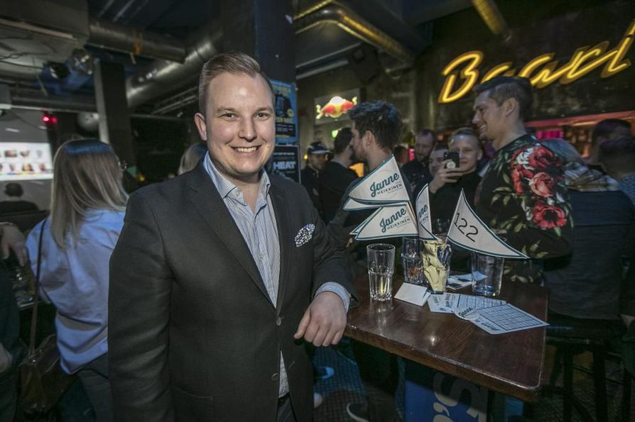 Janne Heikkinen valittiin eduskuntaan huhtikuun vaaleissa.