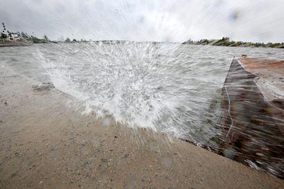 Myrsky lähestyy Suomea sunnuntai-iltana – Myös Pohjois-Pohjanmaalla voi tuulla rivakasti