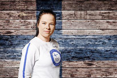 Maajoukkueen ulkopuolella harjoitellut Krista Pärmäkoski vietti rennon kesän