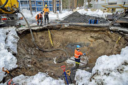 """Kysyimme, missä kunnossa Oulun vesijohdot ovat – """"Vuotomäärät ovat olleet laskevia koko ajan"""""""