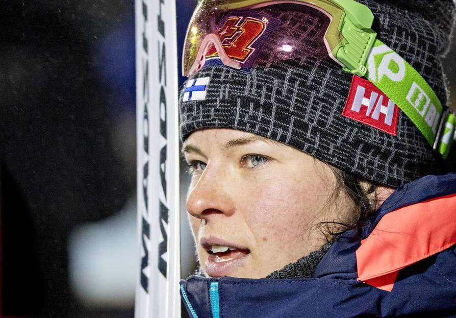Krista Pärmäkoski nähdään perjantaina yhdistelmäkisassa.