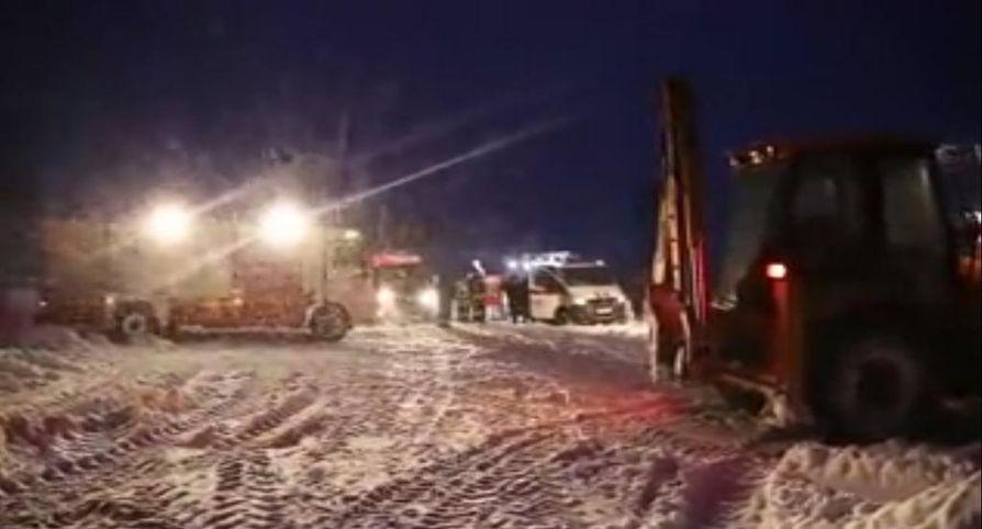 Antonov An-148 -kone syöksyi maahan vain muutama minuutti sen jälkeen, kun se oli noussut ilmaan Moskovan Domodedovon lentokentältä