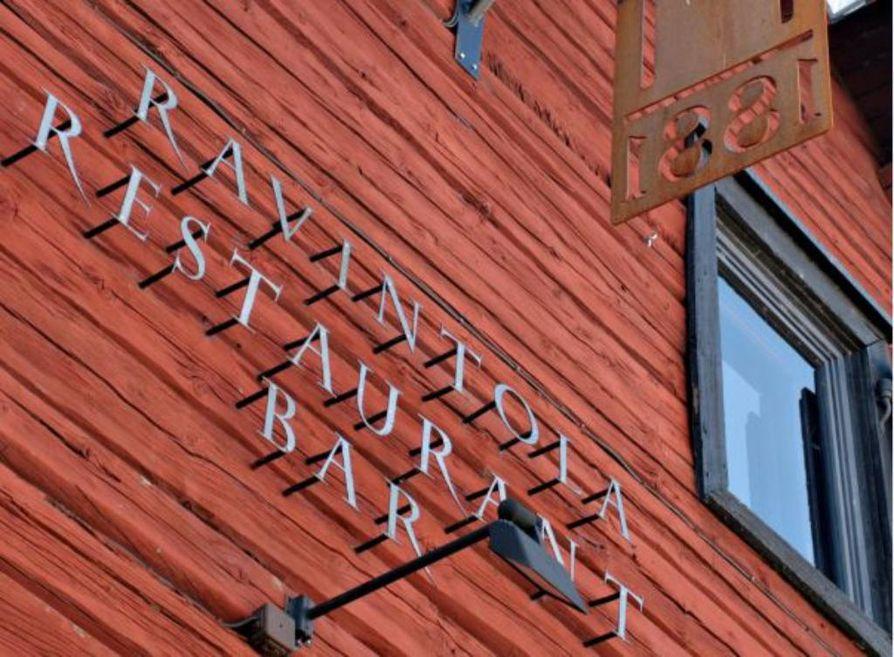 Ravintola Uleåborg 1881 sijaitsee vanhassa aittarakennuksessa torinrannassa.