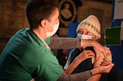 Englannin kolmas pandemiasulku ei näytä juuri heikentäneen covid-19-taudin leviämistä