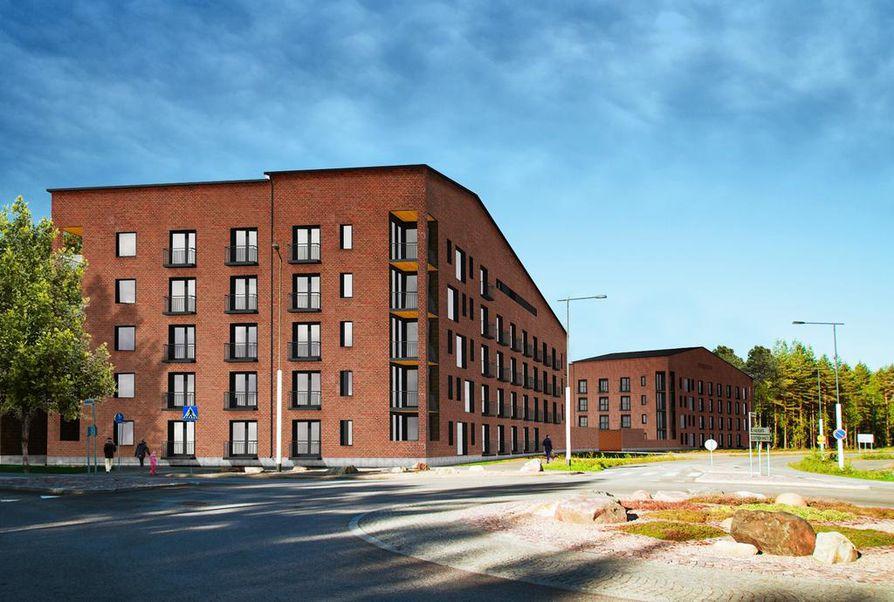 Viime lokakuussa kerrottiin, että eläkevakuutusyhtiö Etera ja Lehto Group ovat solmineet sopimuksen asuinkerrostalon rakennuttamisesta Linnanmaalle.