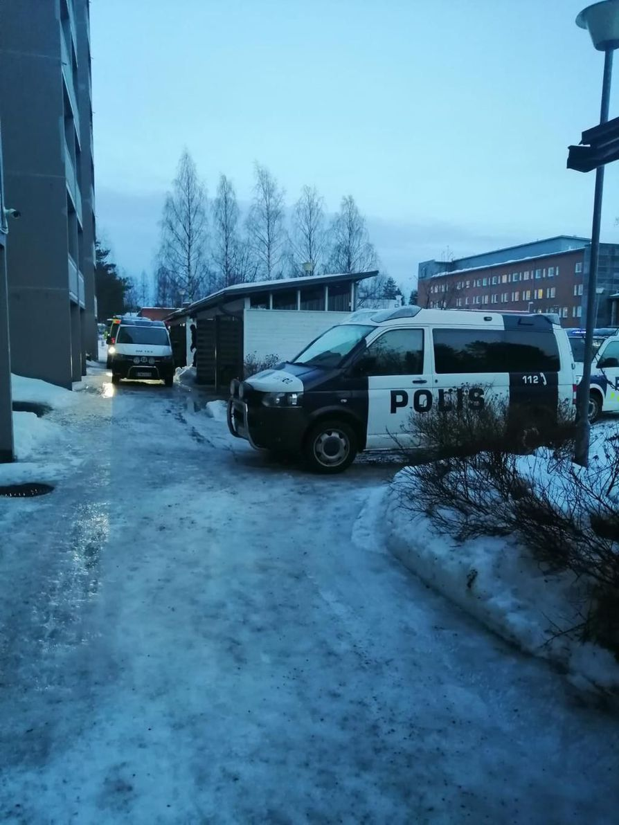Rajakylän poliisioperaatio on ohitse.
