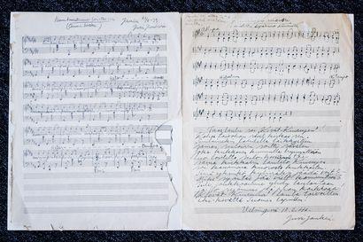 Perikunnan asunnosta löytyi tunnetun musiikinopettajan jäämistöä – Vanhat nuotit kirjoitettiin puhtaaksi ja niin pala jälleenrakennusajan rovaniemeläistä musiikkikulttuuria pelastettiin jälkipolville