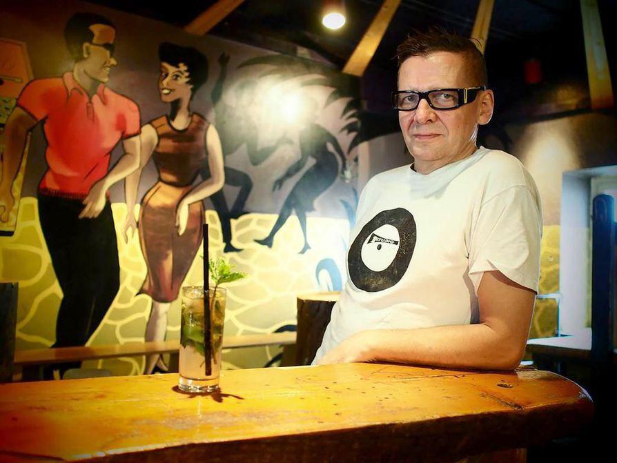 Heikki Jokela on päättänyt lopettaa ravintola Never Grow Oldin.