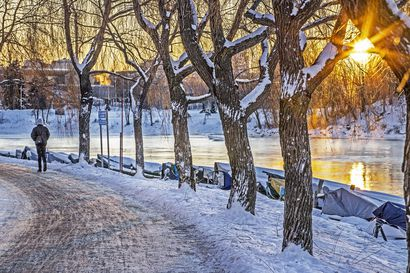 """Hyytävä sää vyöryi Ouluun: pakkanen paukkuu ja tuuli puhaltaa voimakkaasti – """"Erityisesti kroonisesti sairaiden olisi huolehdittava omasta suojautumisestaan"""""""
