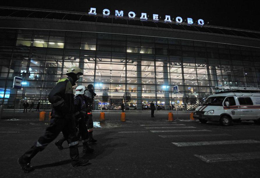 Matkustajalentokone on pudonnut Moskovan lähellä sen jälkeen, kun se oli noussut Moskovan Domodedovon kentältä.