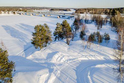 Talviuintipaikan rakentaminen etenee Rovaniemellä