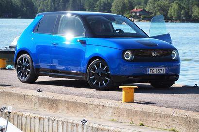 Superkallis ja superhieno Honda e osoittaa, miksi sähköautoilla on vielä matkaa kaupunkiliikenteen suosikeiksi
