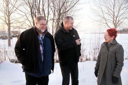 Asukasyhdistykset näkisivät mielellään suunnitellun biotuotetehtaan jäähdytysvesien putken pään Ajoksen satamassa – Metsä Fibre ei