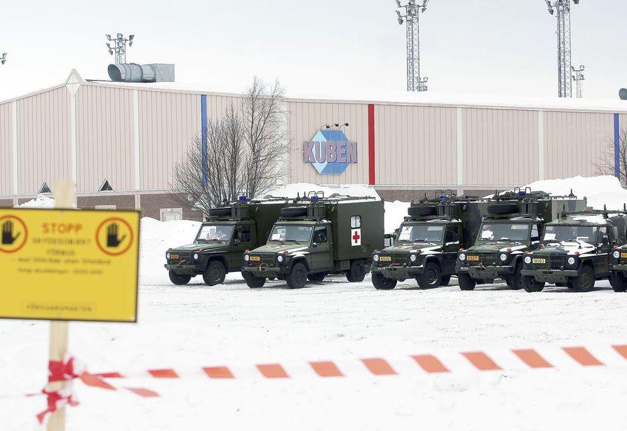 Northern Wind 2019 -harjoitukseen Haaparannalle on tullut jo ulkomaisia sotilasjoukkoja. Suomalaisten joukot tulevat pääosin viikonvaihteen aikana.