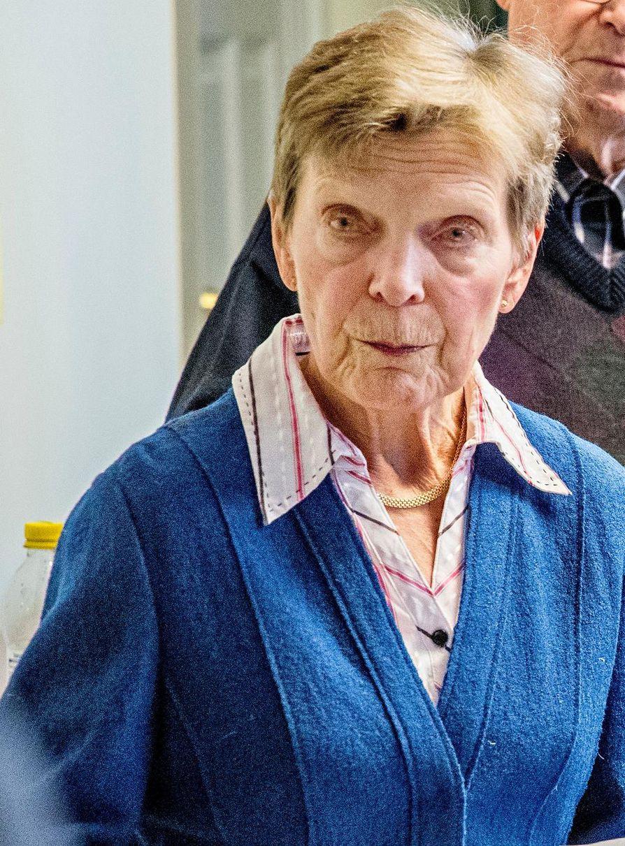 Marja-Liisa Pylväs istui Oulun kaupunginvaltuustossa kaudella 2009–2012.
