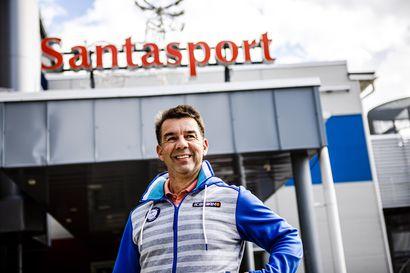 """Santasport-yhtiön pääoma hupeni miljoonatappioon – """"Ei tässä olla kriisissä"""", vakuuttaa toimitusjohtaja"""