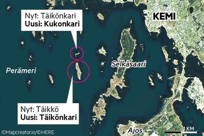 Saarten sadat mökkiläiset saivat Kemissä uudet osoitteet – Lisäksi kahden saaren nimi vaihtuu