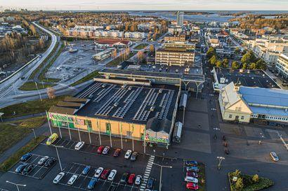 Raahen isoin kissa on nostettu nyt pöydälle ja uusia ideoita otetaan vastaan - katso miltä liikekeskusta näyttää nyt linnun perspektiivistä