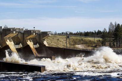Tervolan Ossauskosken voimalaitoksen turbiinista pääsi öljyä Kemijokeen – Öljyä vuosi noin 600 litraa, joista jokeen päätyi alle 50 litraa