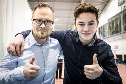 Rovaniemeläinen Johannes Kontiosalo on monipuolinen vuoden koululaisliikkuja