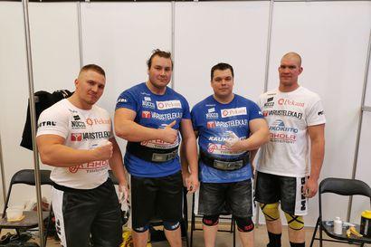 Menestystä Suomen Vahvin Mies -kilpailusta