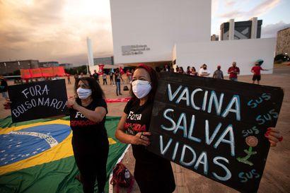 Brasiliassa oli pandemian ylivoimaisesti karmein kuukausi – koronavirus tappoi maaliskuussa yli 66 000 ihmistä