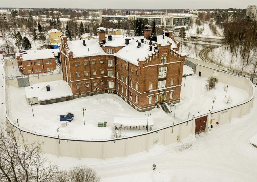 Nykyään Oulun vankila sijaitsee Myllytullissa.