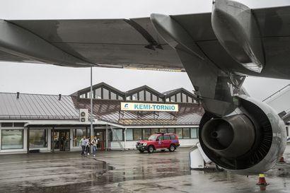 Lukijalta: Lennot Meri-Lappiin säilytettävä