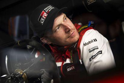 """Autosport: Toyota valinnee Meeken Latvalan sijasta - """"Toivottavasti löydämme jotain Jari-Matille"""""""