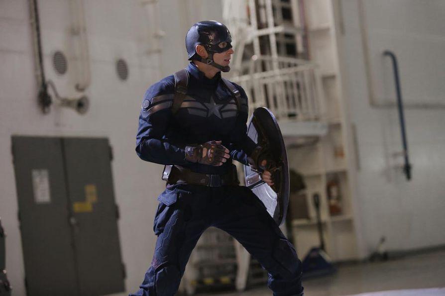 Captain America: The Winter Soldier on Marvel-leffa, jossa salaliittoa vastaan kamppailevana Kapteeni Amerikkana nähdään Chris Evans.