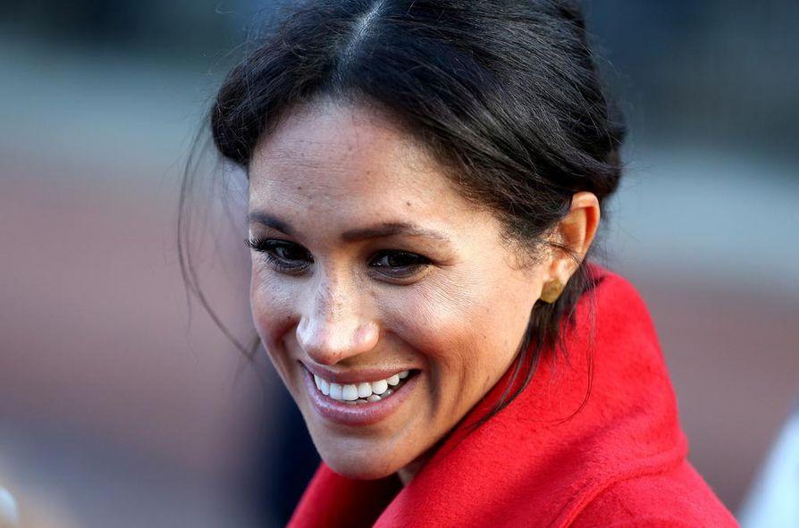 Meghan Marklea avioitui Britannian prinssin Harryn kanssa viime toukokuussa.