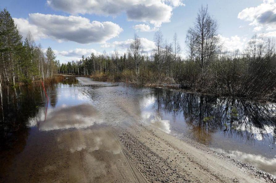 Kartoituksia tedään muun muassa Iijoen valuma-alueella. Arkistokuva.