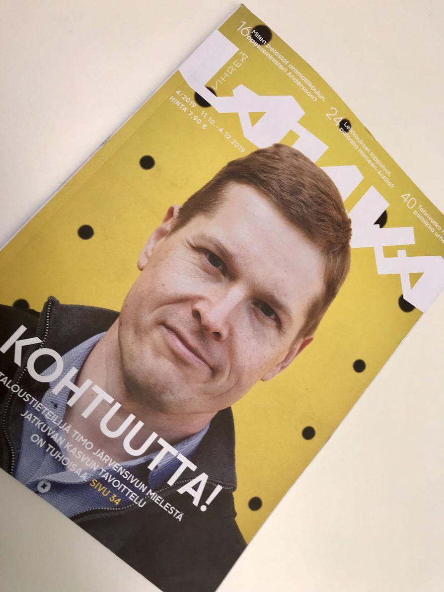Jotain rajaa peräänkuuluttaja Vihreä Langan numero 4/2019.