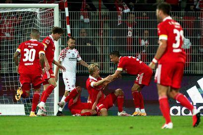 Pohjanpalo pääsi heti maalintekoon Bundesliigassa – Union Berlinille vahva voitto Mainzista