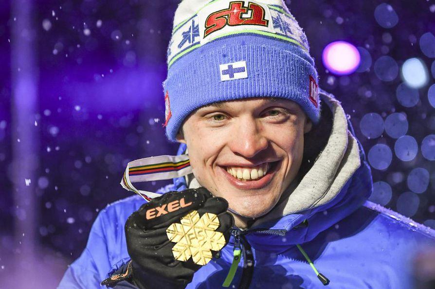 Iivo Niskanen otti kotikisoista Suomen ainoan kultamitalin.