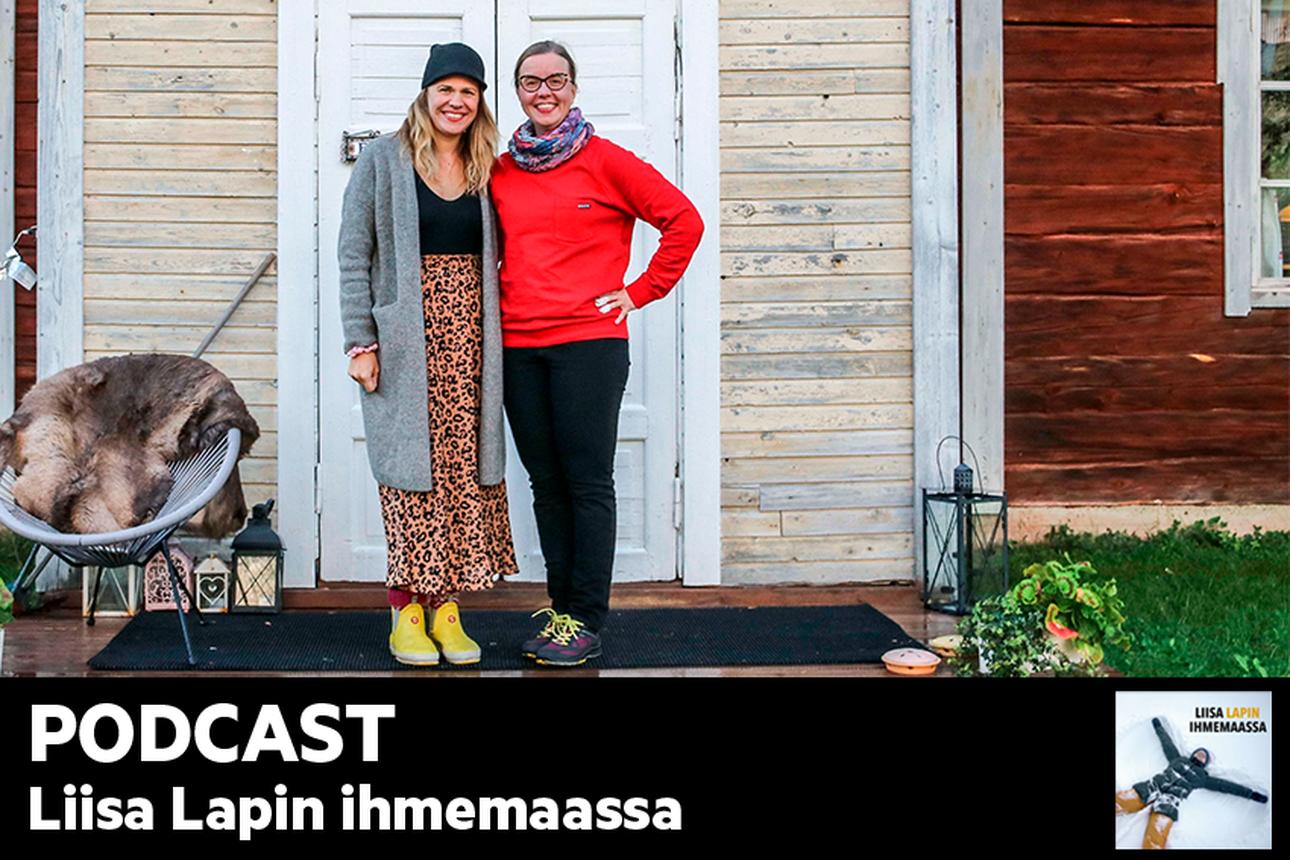"""Kuuntele Liisa Lapin ihmemaassa: """"Emme ole viettäneet perheenä näin paljon aikaa yhdessä vuosikausiin kuin olemme nyt Lapissa viettäneet"""", kertoo somevaikuttaja Inari Fernández"""