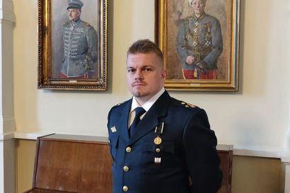 Haapaveden VPK:ssa palokuntauran käynnistänyt Mikko Saastamoinen valittiin Vuoden Palomieheksi