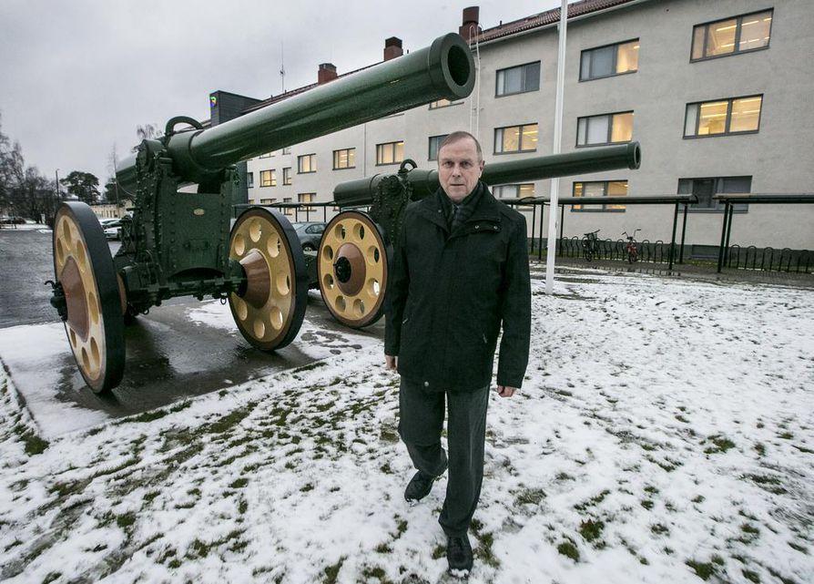 Professori Pekka Visuri vieraili tällä viikolla Oulussa esittelemässä uutta kirjaansa.