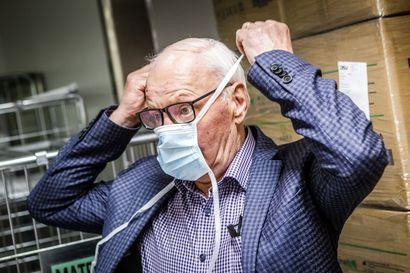 Yle: Lapin sairaanhoitopiiri osti yli kahdella miljoonalla eurolla suojamaskeja Sava-Groupilta – kauppojen alla sovittiin alemman vaatimustason maskien lahjoituksesta